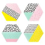 Sass & Belle Memphis Modern Coasters, Set of 4
