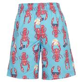 FatFace, Lobster Print Boardies, Paradise Blue