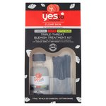 Yes To Tomatoes Detoxifying Charcoal & Sulfur & Tea Tree Oil Blemish Kit