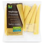 Ready Trimmed Babycorn Waitrose