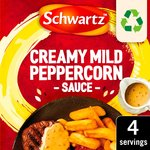 Schwartz Mild Peppercorn Sauce Mix