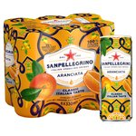 San Pellegrino Classic Taste Orange Slim Cans