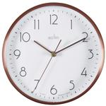 Acctim Ava Wall & Desk Clock, Copper