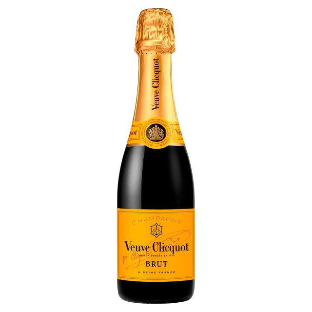 Veuve Clicquot Yellow Label Champagne NV Half Bottle