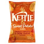 Kettle & More Smoked Chipotle & Creme Fraiche with Sweet Potato Slices