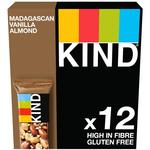 Kind Madagascan Vanilla Almond Multipack