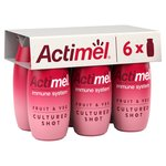 Actimel Fruit & Veg Cultured Shot Red Smoothie