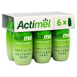 Actimel Fruit & Veg Cultured Shot Green Smoothie