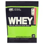 Optimum Nutrition Strawberry Whey Protein Powder