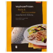 Waitrose Frozen Mackerel Fillets Sustainably Sourced