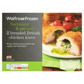Waitrose 2 Chicken Kievs Frozen