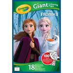 Crayola Frozen 2 Giant Colouring Pages with Stickers