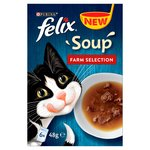 Felix Soup Cat Food Farm Selection