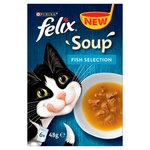 Felix Soup Cat Food Fish Selection