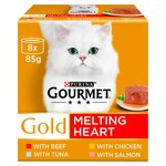 Gourmet Gold Cat Food Melting Heart Meat & Fish
