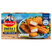 Birds Eye 10 Omega 3 Fish Fingers Frozen
