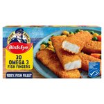 Birds Eye 30 Omega 3 Fish Fingers Frozen