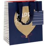 Glick Birthday Balloon Gift Bag, Medium