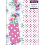 Abacus Floral/ Spot Mix Gift Wrap Pack