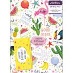 Fiesta Gift Wrap Sheets & Tags