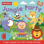 Fisher Price Finger Puppet, Jungle Party