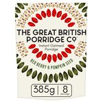 The Great British Porridge Co Red Berry & Pumpkin Seed Instant Porridge