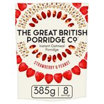 The Great British Porridge Co Strawberry & Peanut Butter Instant Porridge