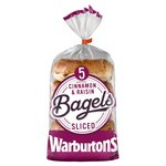 Warburtons Cinnamon & Raisin Bagels