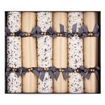 Golden Mistletoe Christmas Crackers
