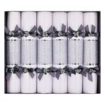 Silver Sparkle Luxury Christmas Crackers