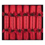 Crimson Delight Luxury Christmas Crackers