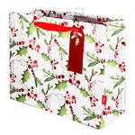 Jolly Holly Carrier Gift Bag