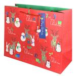 Festive Friends Carrier Gift Bag