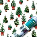 Christmas Trees Gift Wrap Sheets