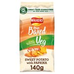 Walkers Oven Baked Sweet Potato with Paprika Snacks