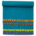 Talking Tables Boho Fabric Pom Pom Table Runner