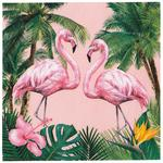 Talking Tables Tropical Fiesta Flamingo Cocktail Napkins