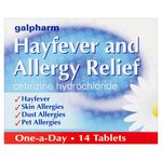 Galpharm Hayfever & Allergy Relief Cetirizine Tablets