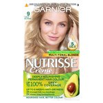 Garnier Nutrisse Blonde Aphrodite 9 Light Blonde Permanent Hair Dye