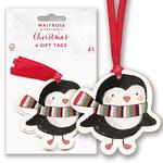 Waitrose Penguin Gift Tags