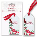 Waitrose Foliage Gift Tags