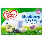 Cow & Gate Blueberry Dairy Pot