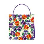 Emma Bridgewater Purple Pansy Gift Bag, Large