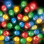 200 Multi-Action LED Supabrights Multi Colour Lights With Timer