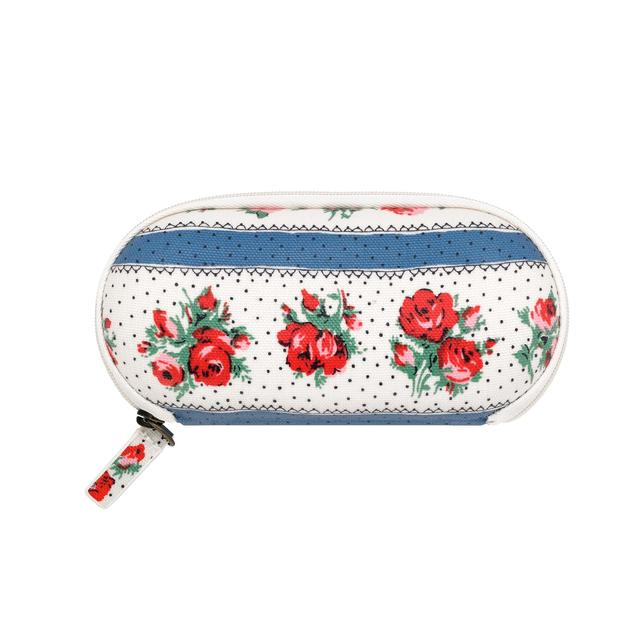 Cath Kidston Zip Around Glasses Case, Ribbon Rose