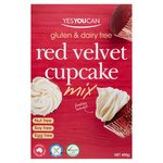 YesYouCan Red Velvet Cupcake Mix