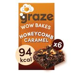 Graze Wow Bakes Honeycomb Crunch x 6