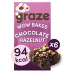 Graze Wow Bakes Dark Choc & Sea Salt x 6