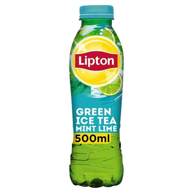 Lipton Ice Tea Green Tea, Mint & Lime