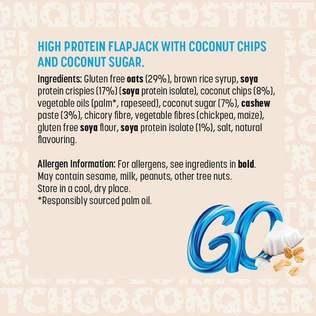 Pro 2go Protein Flapjack Coconut | Ocado
